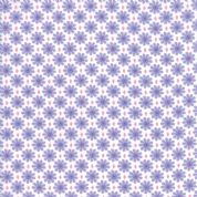 Moda - Good Day  - 6796 - Diamond Daisies Floral, Lilac on White - 22375 22 - Cotton Fabric